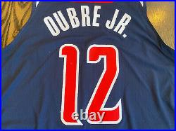 2018-19 Nike KELLY OUBRE JR #12 Washington Wizards Team Issued Game Worn Jersey