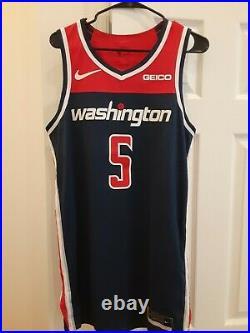 2018-19 Nike Markieff Morris #5 Washington Wizards Team Issued Game Worn Jersey