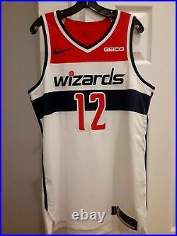 2018-2019 Nike Jabari Parker Washington Wizards Game Issued Game Used Jersey