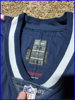 2018 Corey Bojorquez New England Patriots Punter Nike Team Issued Jersey Game