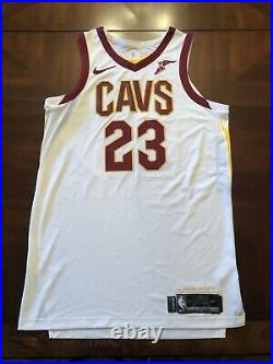 2018 Lebron James Game Issued Finals Jersey Last Game as a Cavalier un worn