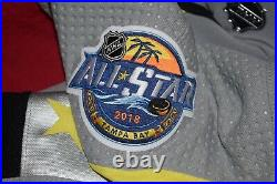 2018 NHL All Star Game Alex Ovechkin Adidas MIC Team Issued Jersey Pro Stock 58
