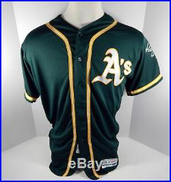 2019 Oakland A's Athletics Liam Hendriks #16 Game Issued Green Jersey 150 1717