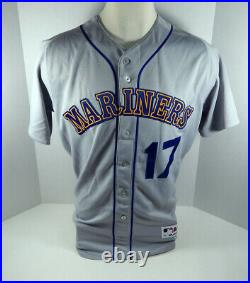 2019 Seattle Mariners Mitch Haniger #17 Game Issued Grey Jersey & Pant 1989 TBC