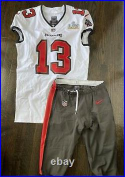 2020-21 Tampa Bay Buccaneers Mike Evans Game Issued Super Bowl LV Jersey Uniform