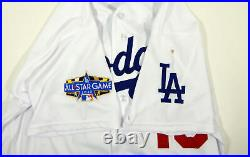 2020 Los Angeles Dodgers Austin Barnes #15 Game Issued Pos Used White Jersey ASG
