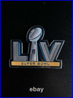 2020 Tampa Bay Buccaneers Game Team issued Jersey Super Bowl LV 55 SB Patch