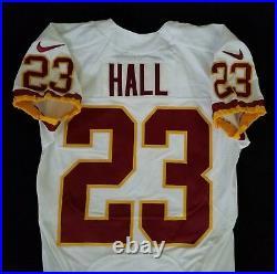 #23 DeAngelo Hall of Washington Redskins NFL Locker Room Game Issued Jersey
