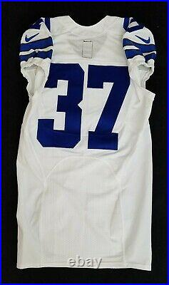 #37 No Name of Dallas Cowboys NFL Locker Room Game Issued Jersey