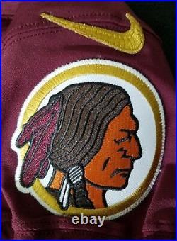 #38 No Name of Washington Redskins NFL Locker Room Game Issued Alternate Jersey