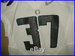 42 Nike Authentic Game Team Issued Oregon Ducks Football Jersey Jackson III #37