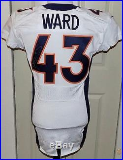 43T. J. WARD, 2016 NIKE, PSA/DNA, AUTOGRAPHED, Game Issued 11/13/2016