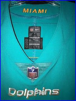 #6 Jay Cutler Miami Dolphins Game Used/team Issued Nike Jersey Yr-2017 Sz-44