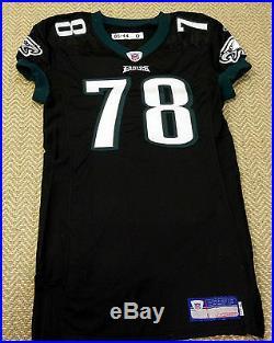 #78 Stacy Andrews of Philadelphia Eagles NFL Locker Room Game Issued Jersey