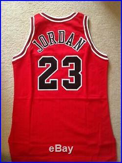 96/97 MichaeI Jordan Pro Cut / Game Issue Champion 50th Anniversary Jersey RARE