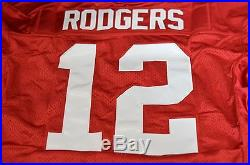 Aaron Rodgers Green Bay Packers Game Practice Used Issued Worn Jersey Reebok