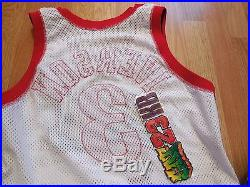 ALLEN IVERSON 42 76ers Champion game issued pro cut jersey authentic kobe curry