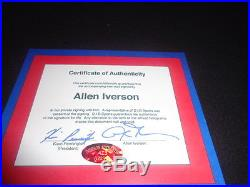 Allen Iverson Autographed Philadelphia 76ers Game Issued 2014-15 Jersey