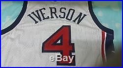 Allen Iverson Game Issued 2003 Team USA Basketball Game Issued Jersey