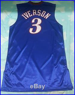 ALLEN IVERSON GAME ISSUED 2005-2006 road GAME JERSEY