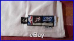 Allen Iverson Game Issued Team Pro Cut 2002-2003 76ers Home Jersey 44+4 Jordan