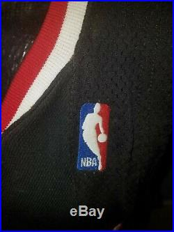 ANDRE EMMETT 76ERS GAME ISSUED/WORN JERSEY 60th Anniversary Patch