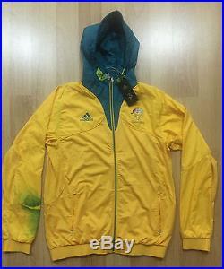 ATHLETE ISSUE AUSTRALIA London 2012 ADIDAS Jacket olympic games jersey player