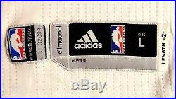 Authentic Adidas Lester Hudson Los Angeles Clippers Game Issue Jersey L +2 Nba