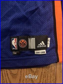 AUTHENTIC ADIDAS TEAM ISSUED GAME JERSEY New York Knicks Patrick EWING
