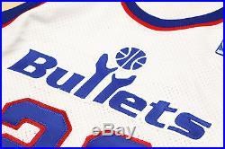 AUTHENTIC Champion Michael Air Jordan Game Jersey Issued Trikot BULLETS Pro Cut