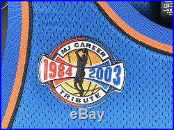 AUTHENTIC Nike Pro Cut Air Jordan WIZARDS Trikot Jersey Game Issued XI 1985 NBA
