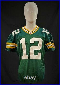 Aaron Rodgers 2010 Green Bay PACKERS GAME ISSUED Autographed Jersey FANATICS