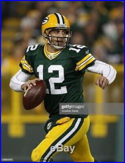 Aaron Rodgers 2010 Green Bay PACKERS GAME ISSUED Jersey
