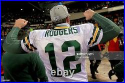 Aaron Rodgers SB XLV Team Issued Signed Packers Pro NFL Game Jersey OFA Football