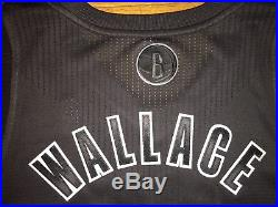 Adidas NBA Gerald Wallace Brooklyn Xmas Game Authentic Pro Cut Issued Jersey