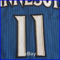Adidas Rev 30 Minnesota Timberwolves GAME ISSUED Bennett road jersey 2XL+2