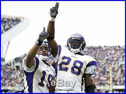 Adrian Peterson GAME ISSUED NFL Minnesota Vikings Jersey 2007, ROOKIE SEASON ROY