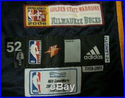 Al Harrington Golden State Warriors Game Issued Jersey 2008 China Games