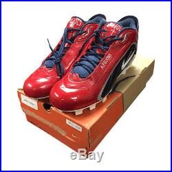 Albert Pujols Game Issued 2003 12.5 Size Nike Zoom Air #5 Emb Cleats with Box