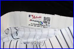 Alex Rodriguez game used/issued Yankees jersey & pants 2015 ALDS STEINER
