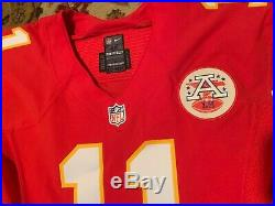 Alex Smith 2016 Kansas City Chiefs Autographed Game Issued / Worn Jersey