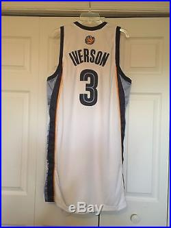Allen Iverson 2009-2010 Game Issued Pro Cut Memphis Grizzlies Home Jersey