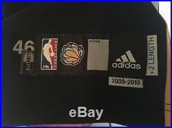 Allen Iverson Road 2009-2010 Pro Cut Game Issued Memphis Grizzlies Jersey