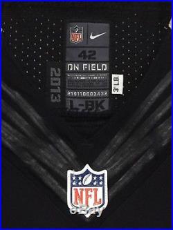 Alvin Kamara New Orleans Saints Game Issued Jersey Nike Onfield Pro Cut Elite