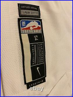 Anthony Davis Lakers Home Game Issued/ Game Worn Jersey Super Rare