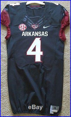 Arkansas Razorbacks Game Issued/Used Jersey Sz 38
