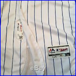 Aroldis Chapman Game Issued Used Worn Chicago Cubs Jersey World Series 2016 Mlb