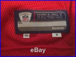 Atlanta Falcons Julio Jones Rookie Season Game Issued Jersey 2011