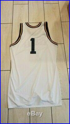 Authentic 2013 Glen Robinson Michigan game team issued basketball jersey shorts