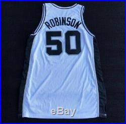 Authentic David Robinson Game Issued Worn Jersey